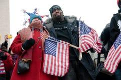 Inaugural Celebration on National Mall Stock Photos