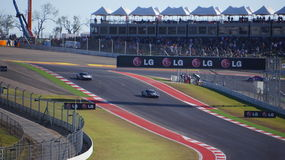 Inaugural day at Circuit of the Americas. Austin, Texas Stock Image