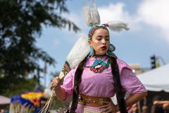 Inaugural Indigenous People`s Day Celebration 2018 stock images