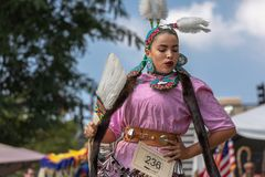 Inaugural Indigenous People`s Day Celebration 2018 stock photography
