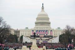 Inauguração presidencial de Donald Trump Imagem de Stock