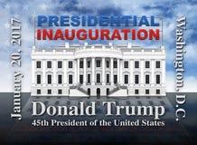 Inauguração presidencial do Estados Unidos Fotografia de Stock Royalty Free
