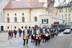 Inauguratie van de nieuwe aartsbisschop in Oostenrijk Royalty-vrije Stock Afbeeldingen