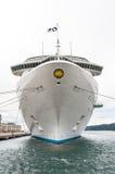 Inauguratie van de Vorstelijke Prinses van het cruiseschip Stock Afbeeldingen