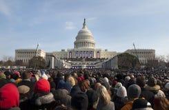 Inauguration au capitol des États-Unis Images libres de droits