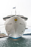 Inauguration of the cruise ship Regal Princess. Port of Trieste  May 16, 2014 Stock Images