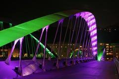 Inauguration du nouveau pont Images stock