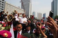 Inauguration of the President and Vice President of Indonesia Joko Widodo and Jusuf Kalla Stock Image