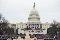 Inauguration présidentielle de Donald Trump Image stock