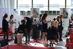 The inauguration of Textile Fashion Center in Sweden Borås 2014 Royalty Free Stock Images