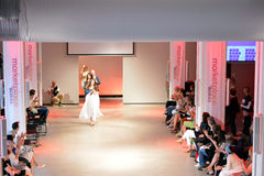 The inauguration of Textile Fashion Center in Sweden Borås 2014 Stock Photos