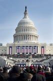 Inaugurazione agli Stati Uniti Campidoglio Fotografie Stock