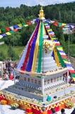 Inaugurazione dello stupa Immagine Stock