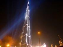 Inaugurazione di Burj Khalifa (Burj Doubai) Fotografia Stock
