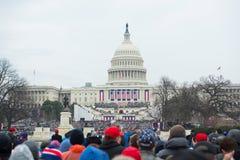 Inaugurazione presidenziale di Donald Trump Fotografia Stock