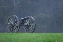 inbördeskrig för 3 kanon Royaltyfri Fotografi