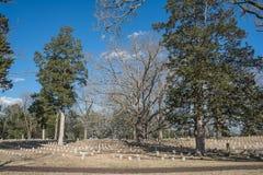 Inbördeskrigkyrkogård Royaltyfri Foto
