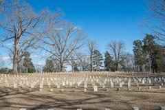 Inbördeskrigkyrkogård Arkivbild
