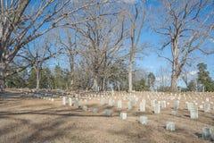 Inbördeskrigkyrkogård Arkivfoto