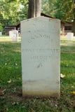 Inbördeskrigkyrkogård på ön för Johnson ` s royaltyfria bilder