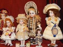 Inbare poppen Royalty-vrije Stock Afbeeldingen