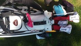 Inbee Parks' golf bag Stock Images