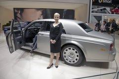 inbillad Rolls Royce serie för ii Arkivbild