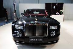 inbillade Rolls Royce Arkivfoto