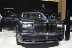 inbillade Rolls Royce Royaltyfri Foto