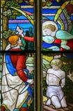 Inbinda av Isaac på monteringen Moriah av Abraham Fotografering för Bildbyråer