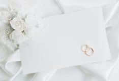 inbjudanbröllop royaltyfri foto