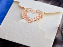 inbjudanbröllop Arkivbilder