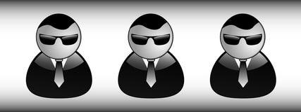 InBlack Immagini Stock Libere da Diritti