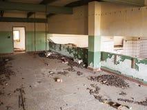Inblickar in i ett glömt lager Royaltyfria Foton