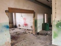 Inblickar in i ett glömt lager Royaltyfri Fotografi