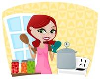 Inblikkend Voedsel vector illustratie