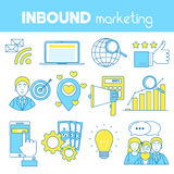 Inbound marketing Royalty Free Stock Images