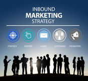 Inbound Marketing Strategy Advertisement Commercial Branding Royalty Free Stock Photo