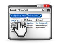 Inbox concept Royalty Free Stock Photos