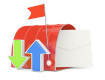 Inbox concept Royalty Free Stock Images