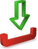 Inbox Ikone Lizenzfreies Stockfoto