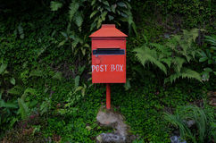 Inbox for mail and letters. Communication technology of the past royalty free stock photos