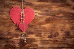 inbunden vektor för valentin för daghjärtaillustration s två Royaltyfria Foton