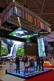 Inbyggd utställning för system Europa (ISE), Amsterdam, Royaltyfria Bilder