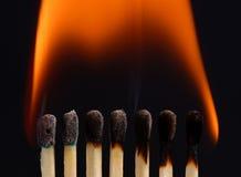 Incêndio - 05 Imagem de Stock