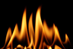 Incêndio Fotografia de Stock