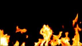 Incêndio 3d abstrato altamente detalhado Imagem de Stock Royalty Free