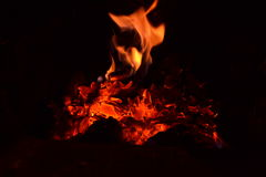 Incêndio Foto de Stock Royalty Free