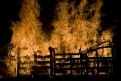 Incêndio 7 Foto de Stock
