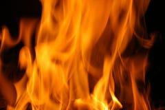 Incêndio abstrato Fotografia de Stock